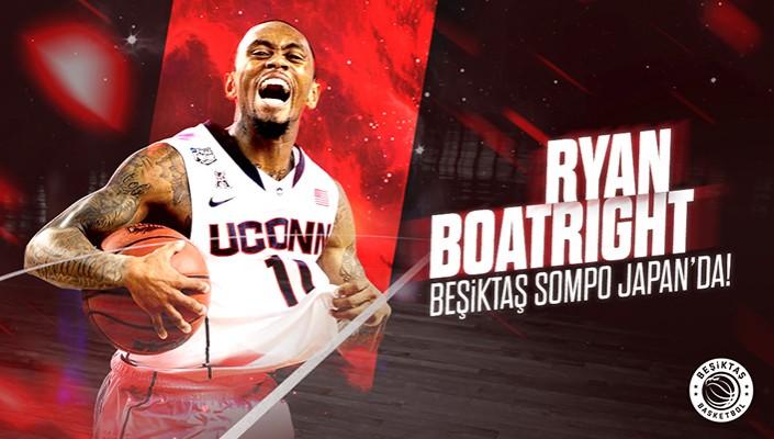 Ryan Boatright Beşiktaş Sompo Japan'da