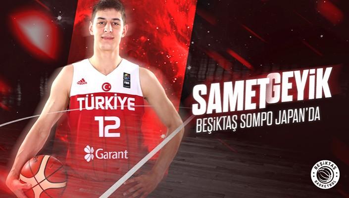 Samet Geyik Beşiktaş Sompo Japan'da