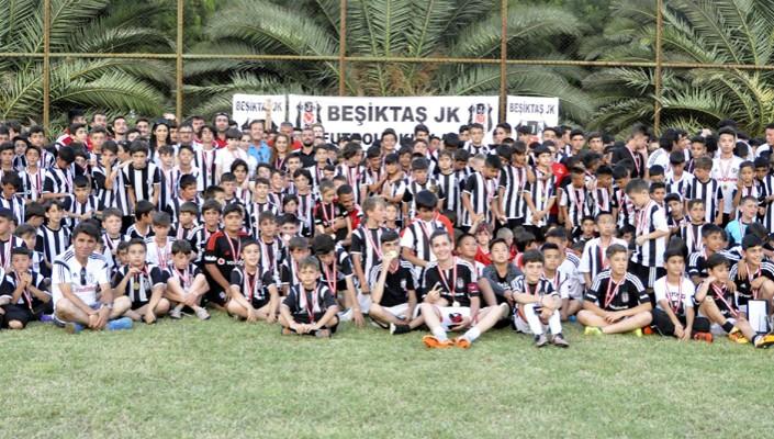 BJK Futbol Okulları Yaz Kampı Sona Erdi