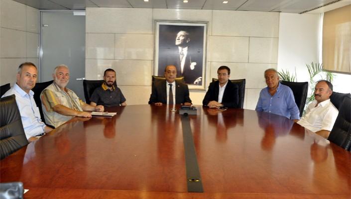Atletizm Federasyonu Başkanı Fatih Çintimar'dan Kulübümüze Ziyaret
