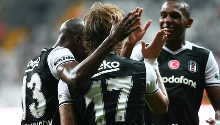 Beşiktaş win 1-0 at home to Olympiacos in friendly