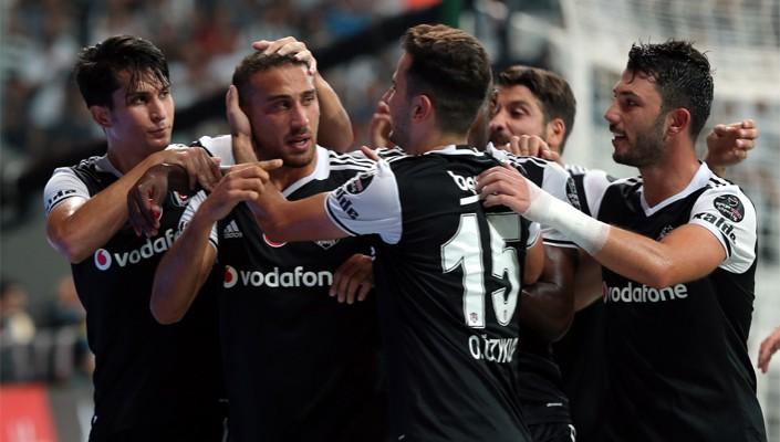Champions open season on right foot as they beat Alanyaspor 4-1