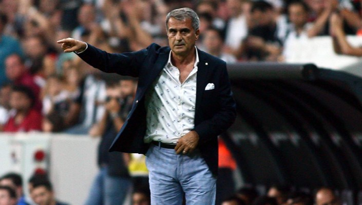 Manager Şenol Güneş : 'We are getting better every other match.'