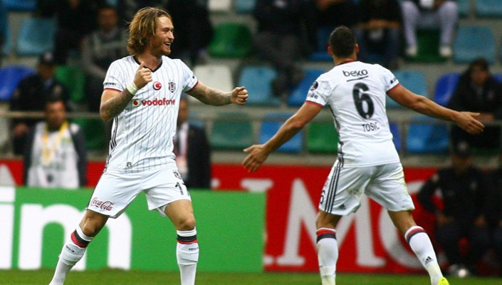 Beşiktaş returning home from Kayseri with another golden 3 points!