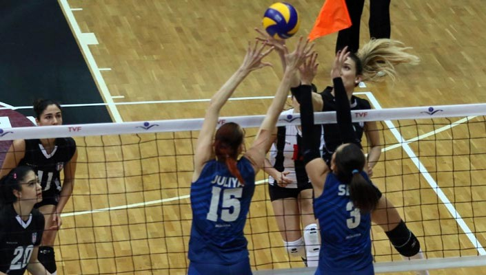 Beşiktaş put up a fight but crash out of Volley Cup on an aggregate point !