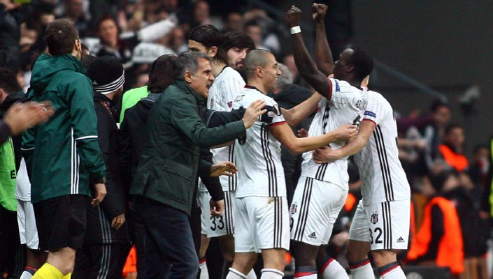 Beşiktaş advance to Europa League Last-16