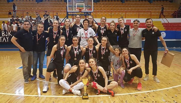 U-18 Kız Basketbol Takımımız, Türkiye Şampiyonası'nda İkinci Oldu