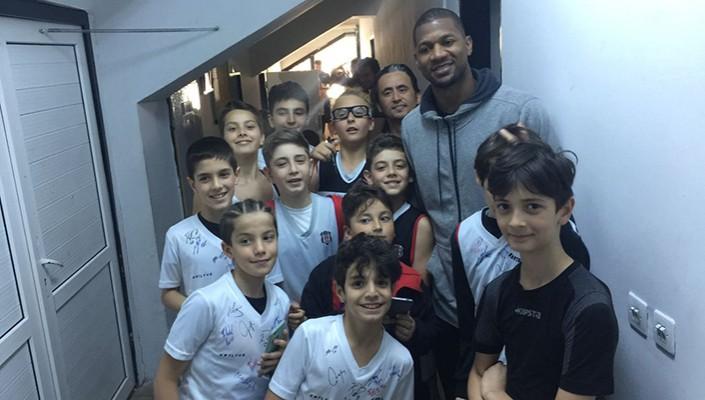Potanın Kartalları Basketbol Akademi Oyuncuları İle Bir Araya Geldi