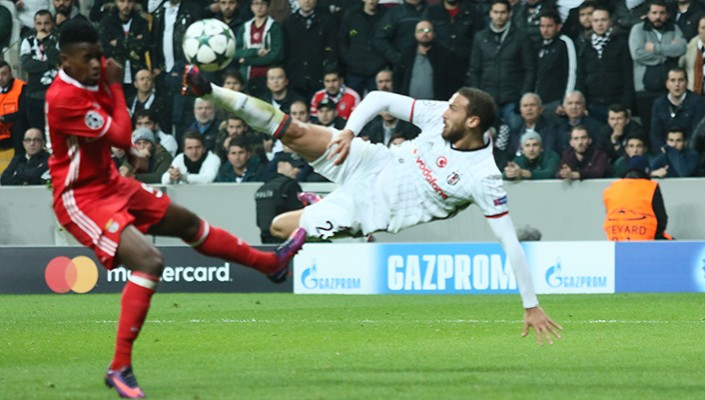 Cenk Tosun's goal selected the Goal of the Week in Champions League!