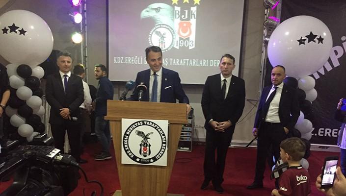 Başkanımız Fikret Orman, Karadeniz Ereğlili Beşiktaşlılarla İftarda Buluştu