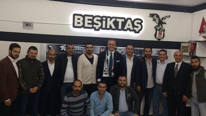 Hakan Özköse'den Beşiktaş Derneklerine Ziyaretler