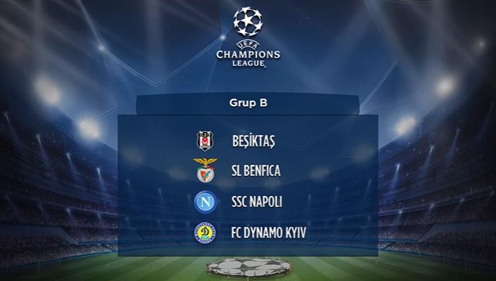 Beşiktaşımızın UEFA Şampiyonlar Ligi Fikstürü Belli Oldu