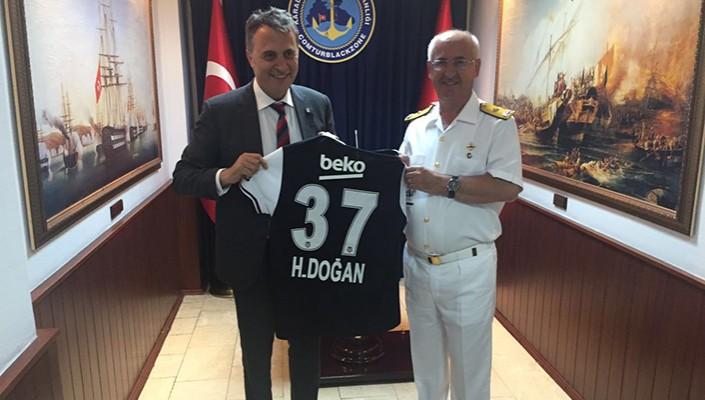 Başkanımız Fikret Orman'dan Karadeniz Bölge ve Garnizon Komutanı Tuğamiral Hasan Doğan'a Ziyaret