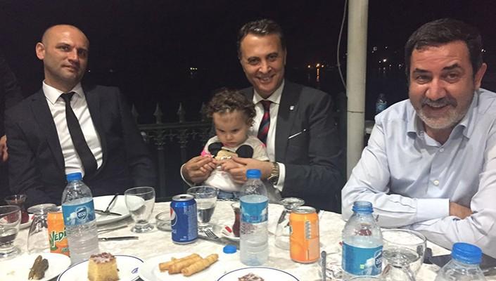 Başkanımız Fikret Orman, Beşiktaş KDZ Ereğli Derneği'nin  İftarına Katıldı