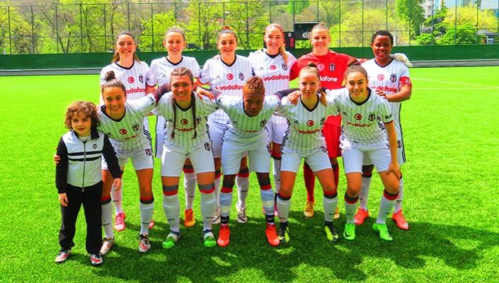 Beşiktaş Women rout 1207 Antalya Döşemealtı Bld. 3-0