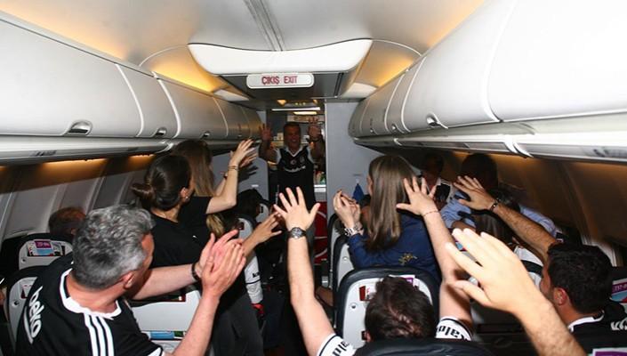 Gaziantep'ten Dönüş Uçağında Eğlenceli Anlar