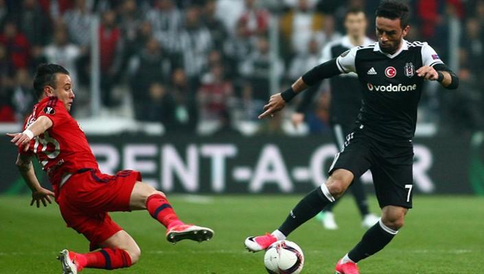 Beşiktaş out of Europa League on penalty-kicks!