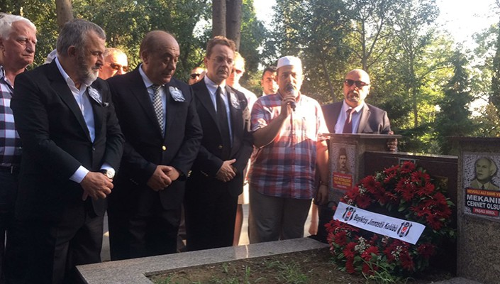 Beşiktaş visit arch-rivals Galatasaray's founder Ali Sami Yen!
