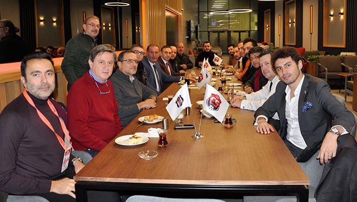 Anagold 24Erzincanspor Yönetimi Vodafone Park'ta Ağırlandı