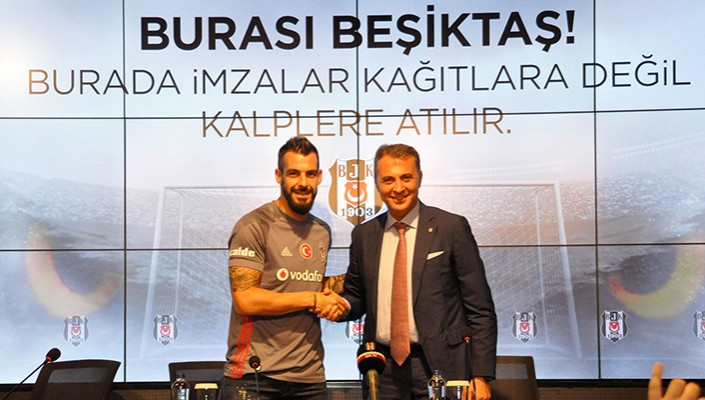 Signing ceremony for Alvaro Negredo at Vodafone Park…