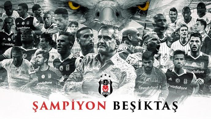 Beşiktaş 20. Şampiyonluğuna Ulaştı