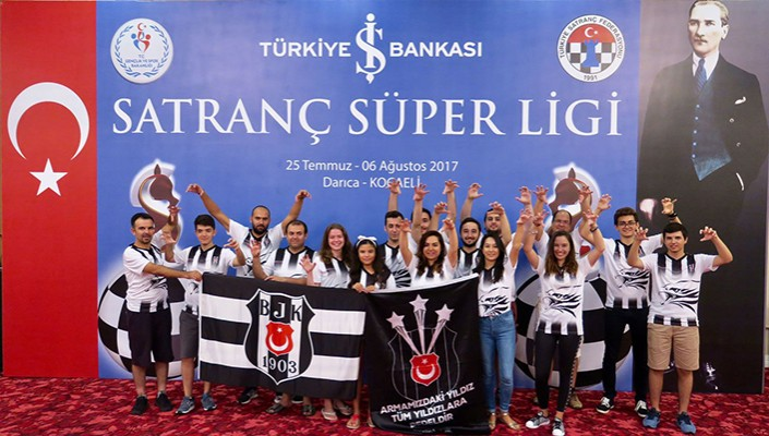 Beşiktaş Chess team win Turkish national title!