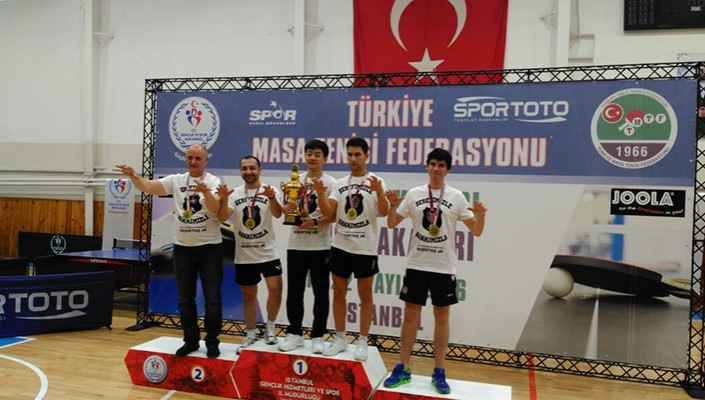With 3-1 victory over Fenerbahçe, Beşiktaş Table Tennis wins Turkish Cup