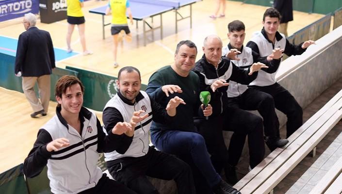 Masa Tenisi Takımımız Play-Off Etabında 4'te 4 Yaptı