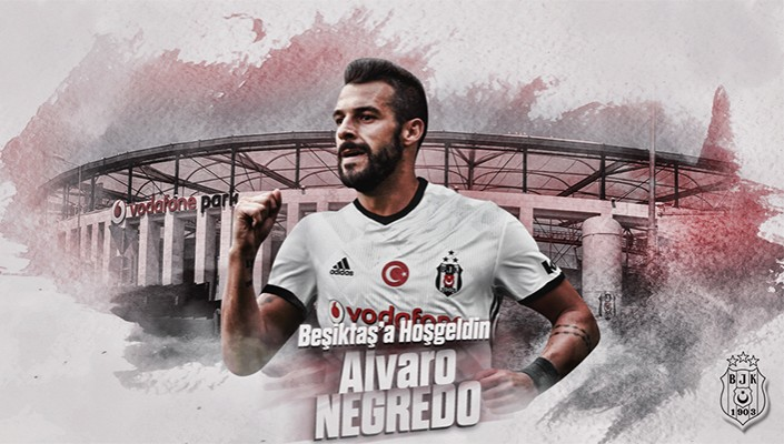 Beşiktaş bolster front-line with Alvaro Negredo