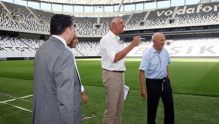 UEFA Heyeti Vodafone Arena'da İncelemelerde Bulundu