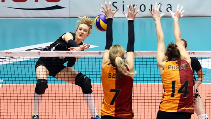 Women's Volleyball slips to 3-0 defeat against Galatasaray
