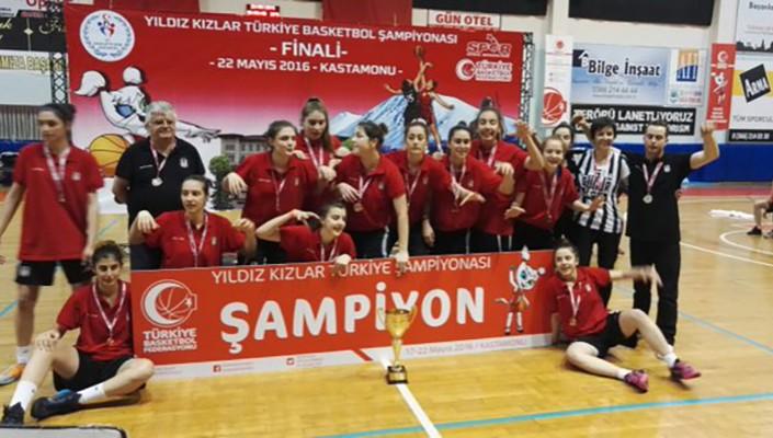 Beşiktaş JK women's U16s are Turkish Champions
