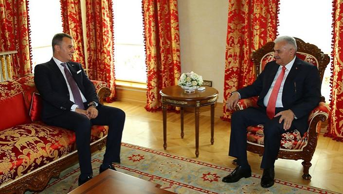 New Beşiktaş JK Board visits Prime Minister