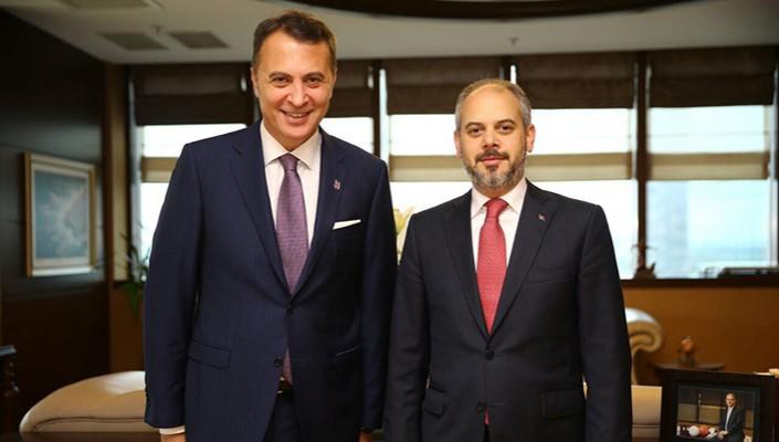 Başkanımız Fikret Orman, Gençlik ve Spor Bakanı Akif Çağatay Kılıç'ı Ziyaret Etti