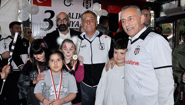 Başkanımız Ahmet Nur Çebi, 3 Aralık Dünya Engelliler Günü Etkinliğine Katıldı
