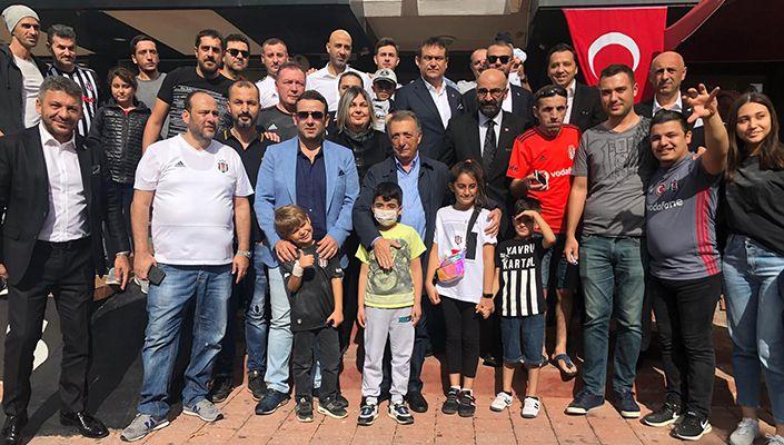 Başkanımız Ahmet Nur Çebi, Antalya'da Taraftarlarımızla Buluştu