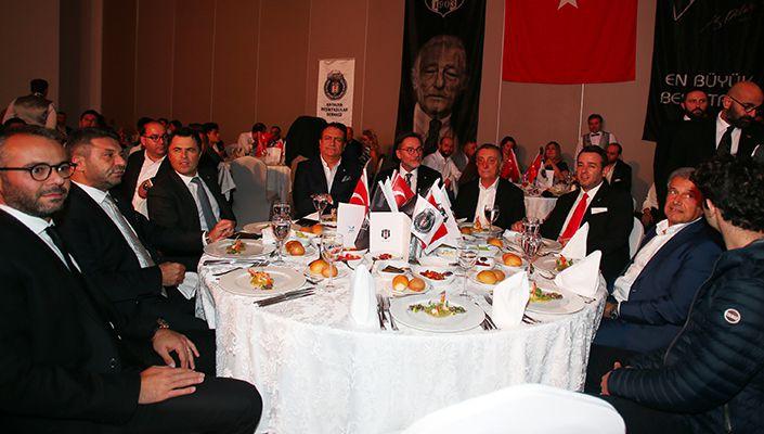 Başkanımız Ahmet Nur Çebi, Antalyalı Beşiktaşlılarla Buluştu