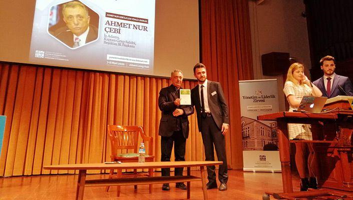Başkanımız Ahmet Nur Çebi, Boğaziçi Üniversitesi'nde Panele Katıldı