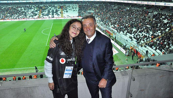 Başkanımız Ahmet Nur Çebi, Özel Konuğumuz Buket Durmuş İle Buluştu