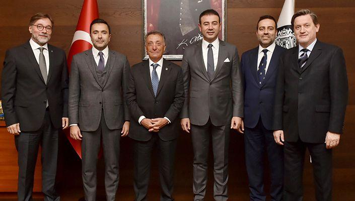 Başkanımız Ahmet Nur Çebi'den Beşiktaş Belediye Başkanı Rıza Akpolat'a Ziyaret