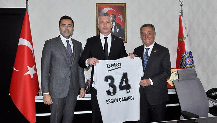 Başkanımız Ahmet Nur Çebi'den Beşiktaş Emniyet Müdürü Ercan Çamırcı'ya Ziyaret