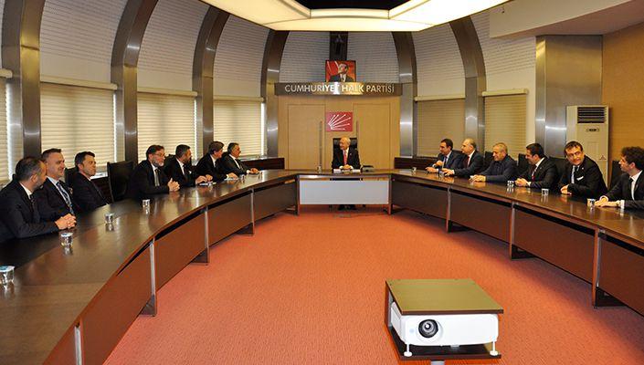 Başkanımız Ahmet Nur Çebi'den Cumhuriyet Halk Partisi Genel Başkanı Kemal Kılıçdaroğlu'na Ziyaret