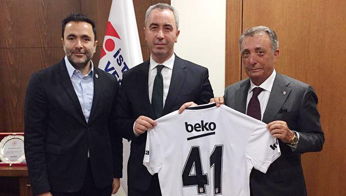 Başkanımız Ahmet Nur Çebi'den Gelir İdaresi Başkanı Bekir Bayrakdar'a Ziyaret