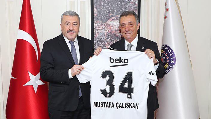 Başkanımız Ahmet Nur Çebi'den İstanbul Emniyet Müdürü Dr. Mustafa Çalışkan'a Ziyaret