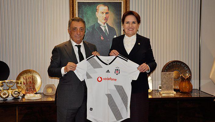 Başkanımız Ahmet Nur Çebi'den İYİ Parti Genel Başkanı Meral Akşener'e Ziyaret