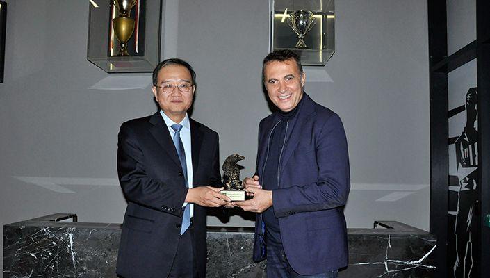 Çin Halk Cumhuriyeti'nin Kuruluş Yıl Dönümü Vodafone Park'ta Kutlandı
