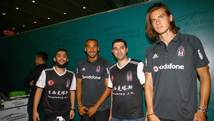 Black Eagles land in China!