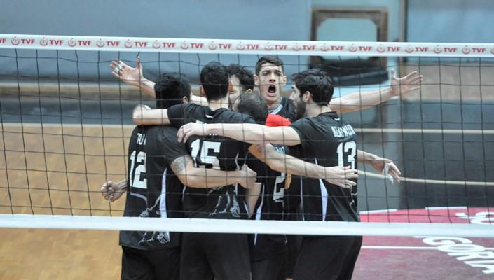 Beşiktaş beat Belediye Plevne in the play-outs once again.