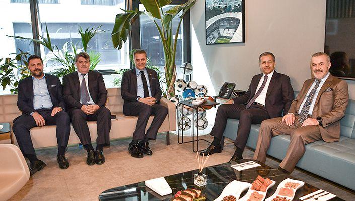 İstanbul Valisi Ali Yerlikaya'dan Kulübümüze Ziyaret