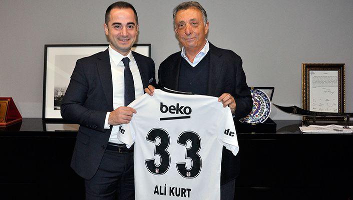Kiptaş Genel Müdürü Ali Kurt'tan Başkanımız Ahmet Nur Çebi'ye Ziyaret